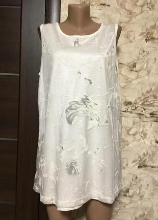 Нежная трикотажная блуза,майка ,sawara