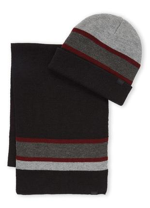 Levis шапка и шарф, набор оригинал из сша