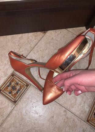 Туфли, босоножки, кожа, 38 размер