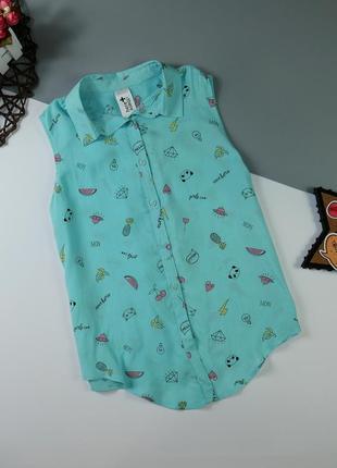 Рубашка на 11-12 лет/146-152 см