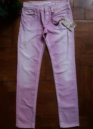 Розовые джинсы fracomina,размер 26.