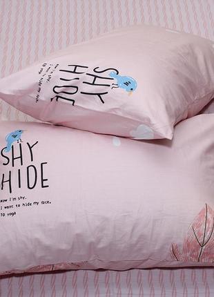 Комплект постельного белья с компаньоном s3652 фото