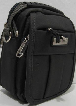 Мужская тканевая сумка gorangd (тёмно-серая)