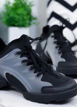 Кроссовки черные диор легкие и удобные