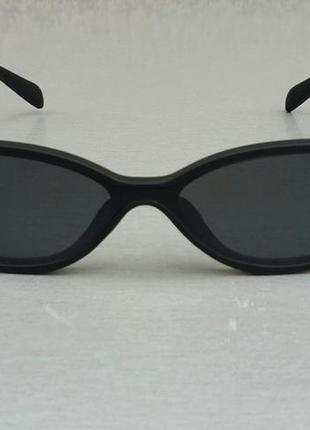 Celine очки женские солнцезащитные черные узкие овальные