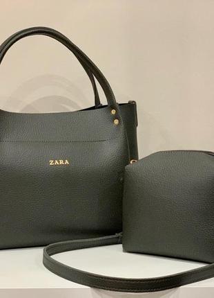 Женская сумка экокожа комплект (арт.л1201)