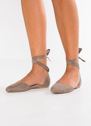 Стильные туфли со шнуровкой new look