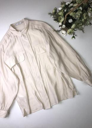 Рубашка mango  размер л