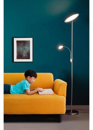 Livarno lux led uplighter reading lamp лампа светильник торшер