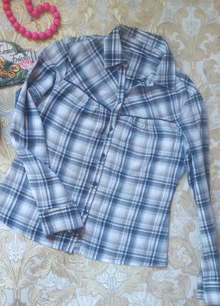 Хорошенькая рубашечка. на бирке- 14 р-р(48)