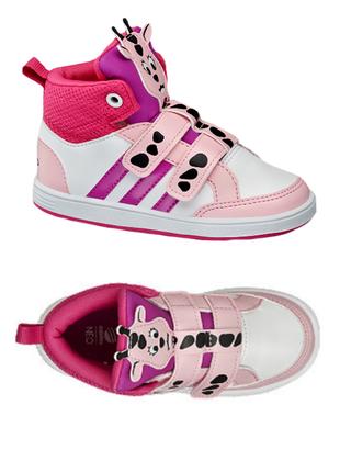 Кроссовки кеды adidas eur 22, uk 5 1/2 , 13 см (мой замер по стельке 14.2 см)