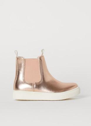 Ботинки, черевики, чобітки, черевички, сапожки, челсі, челси, 34 размер, h&m