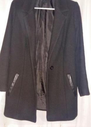 Пальто прямого покроя2
