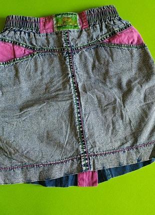Стильна спідниця під джинс