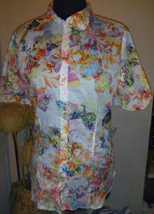 Рубашка,бабочки