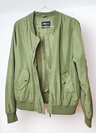 Куртка бомбер s-m