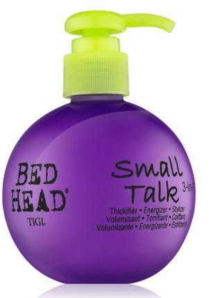 Tigi bed head styling small talk крем-гель средней фиксации