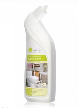 Гель очищающий для туалета чистящее моющее фаберлик 500 мл дезинфекция антибактериальное