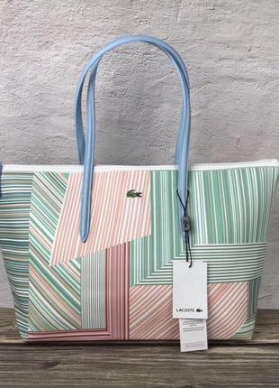 Женская сумка lacoste зебра ♦ наложенный платёж