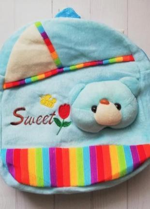 Мягенький рюкзачок для малышей от 3х лет