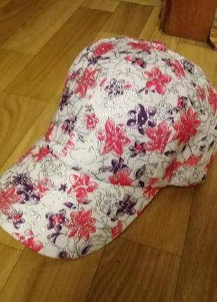Классная яркая кепка бейсболка роз размер 56-57