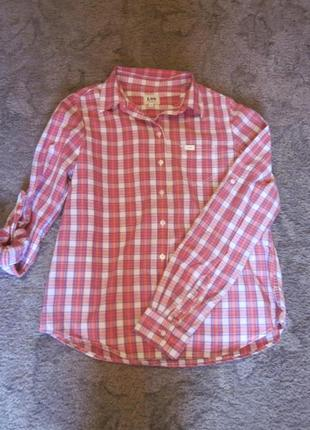 Фирменная рубашка lee размер s