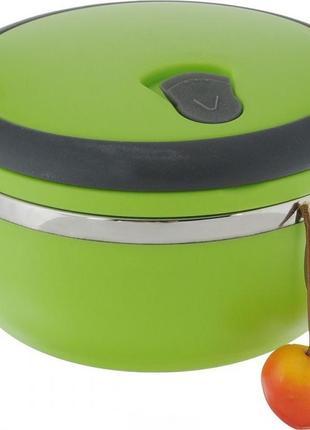 Переносимый термо ланч-бокс контейнер для обедов (до 8 часов тепла) 700мл.