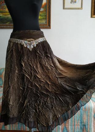 Супер бохо нарядная юбка miss miss