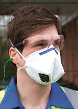 Респиратор 3м к112 , защитная маска противовирусная респиратор2 фото