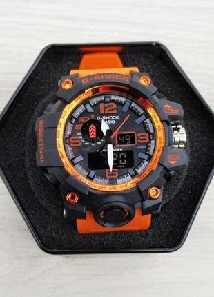 Часы casio gwg-1000 black-orange writband