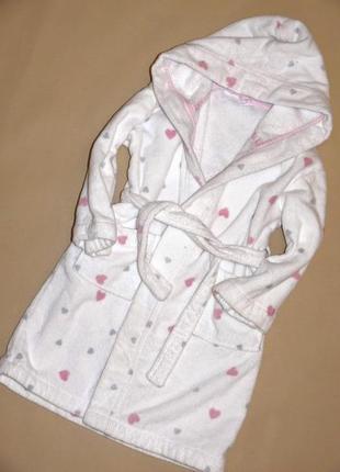 Махровый халат 3-4г