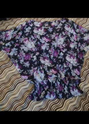 Лёгкая блуза на пышные формы