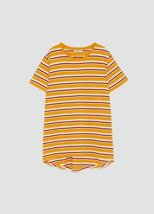 Хлопковая футболка zara