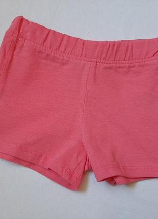 Летние шорты для девочки 3-6 мес 62 см