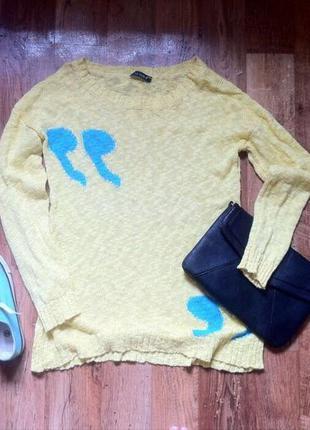 Женский свободный свитерок , 42-44 размера