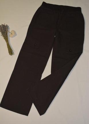 Брюки с карманами для девочки f&f англия размер 13-14 лет