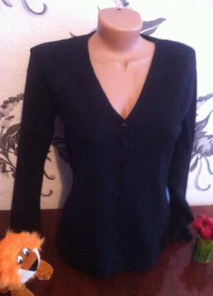 Черная женская кофточка))  42 размер