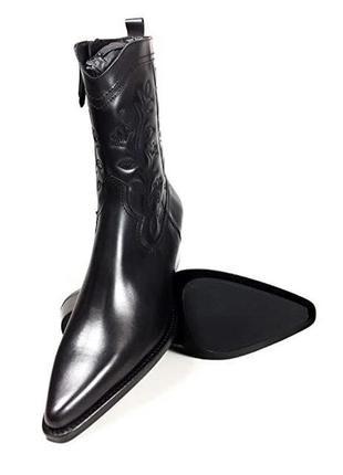 Massimo dutti ботинки сапоги ковбойские cowboy boots новые