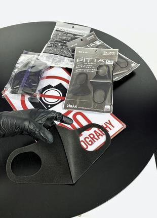 Многоразовая маска pitta питта {япония} ▪️ оригинал! ▪️ защитная ▪️ багаторазова