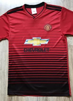 Подростковая футболка manchester united футбольная джерси форма
