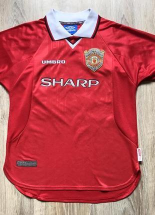Подростковая коллекционная футбольная джерси umbro manchester united