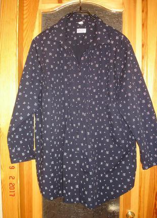Блуза рубашка angel of style для щедрых дам
