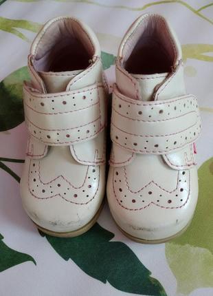 Ботинки flamingo 18 р.