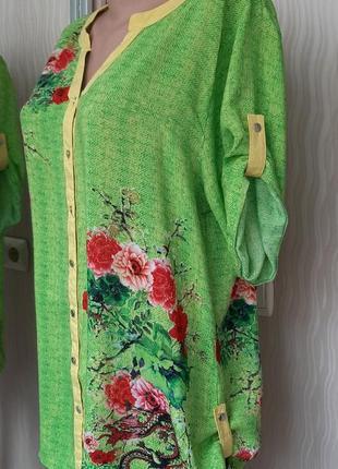 Блуза туника нарядная