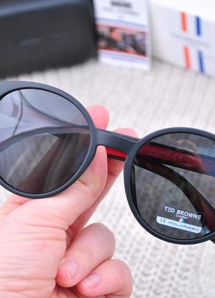 Солнцезащитные круглые стильные очки ted browne polarized unisex tb342