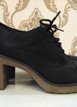 Graceland ботильоны, туфли лоферы на устойчивом каблуке