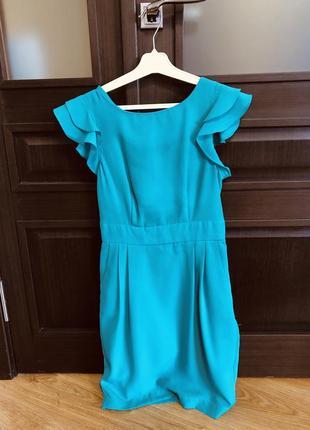 Бірюзове плаття