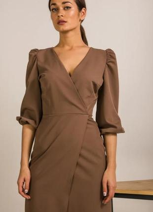 Платье, платье на запах, платье мини
