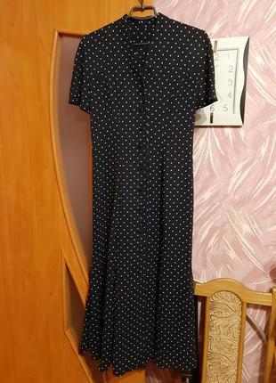 Вінтажна шифонова сукня