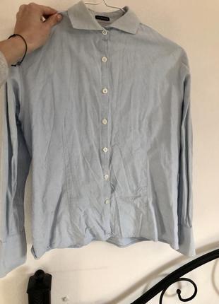 Голубая рубашка purdey